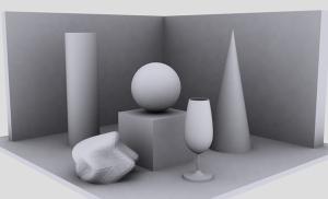 rendering objects in 3D modeling