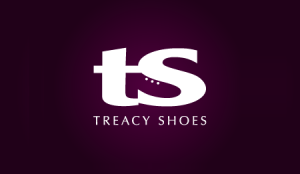 logo that use negative space to form an image of a shoe