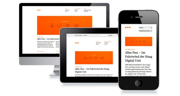 Example of Responsive Web Design